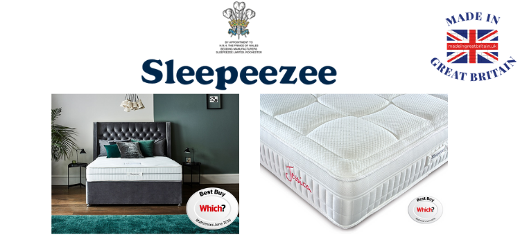 sleepeezzee matress made in uk voted best by which, uk mattress brands, top uk mattresses,