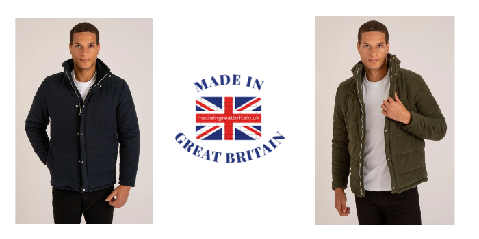 teddy edward luxury btritish made white shirt with logo, best of british